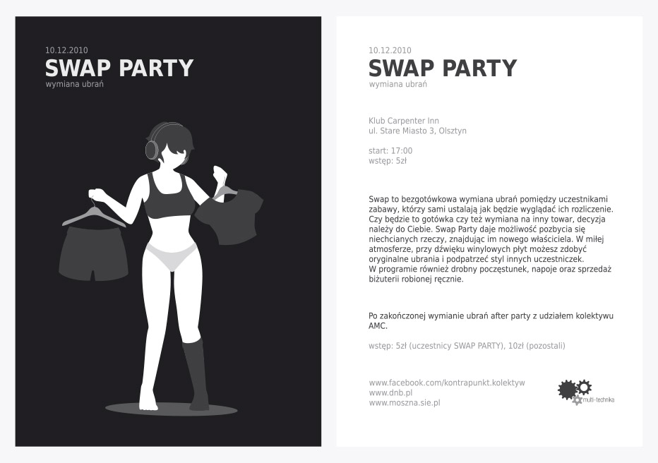 swap party front